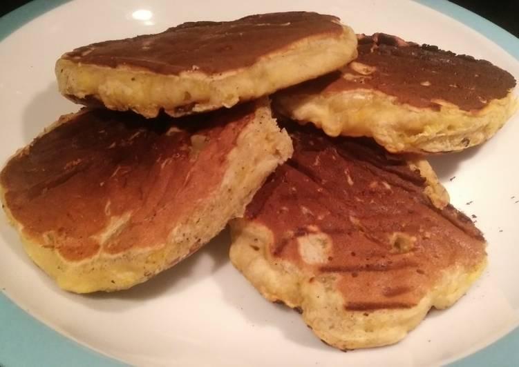 Plantain Pancakes (Vegan)