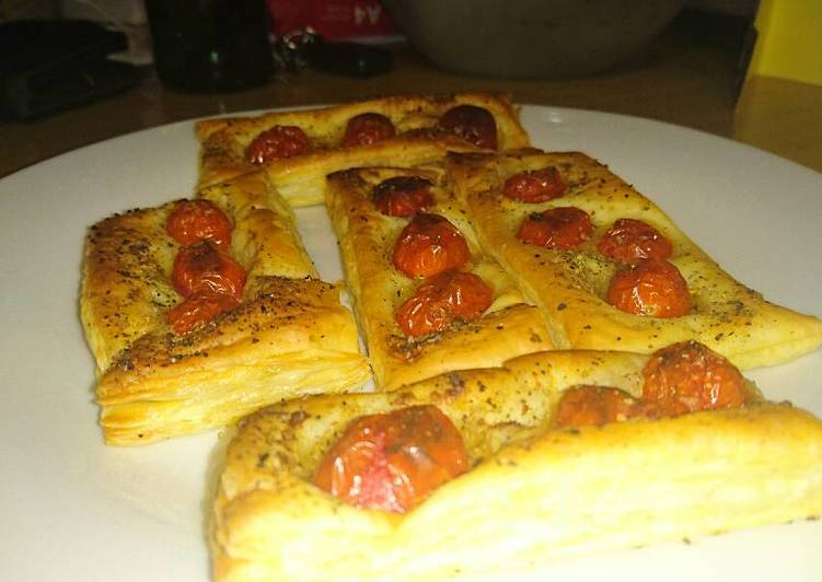 Recipe of Favorite Puff pastry tomato poppers