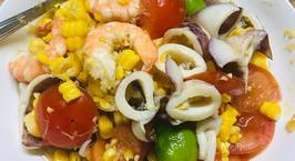 Hình ảnh món Món Thái - sôm tăm khao pốp thá lê - hay còn gọi là gỏi thái