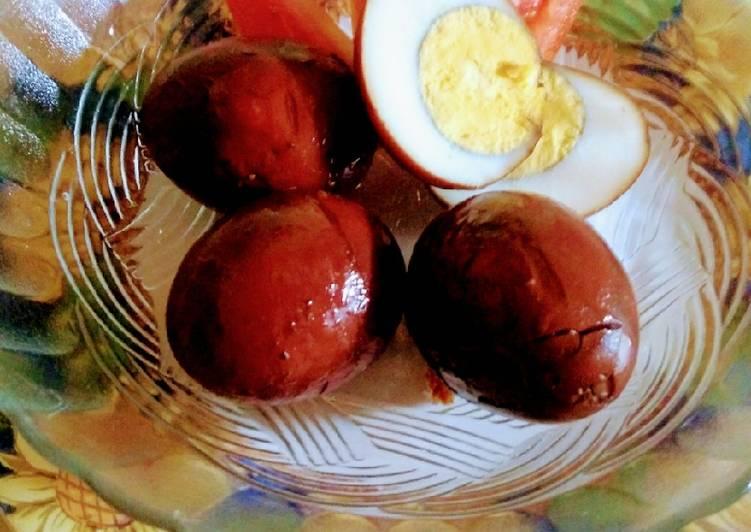 Telur Pindang Simpel
