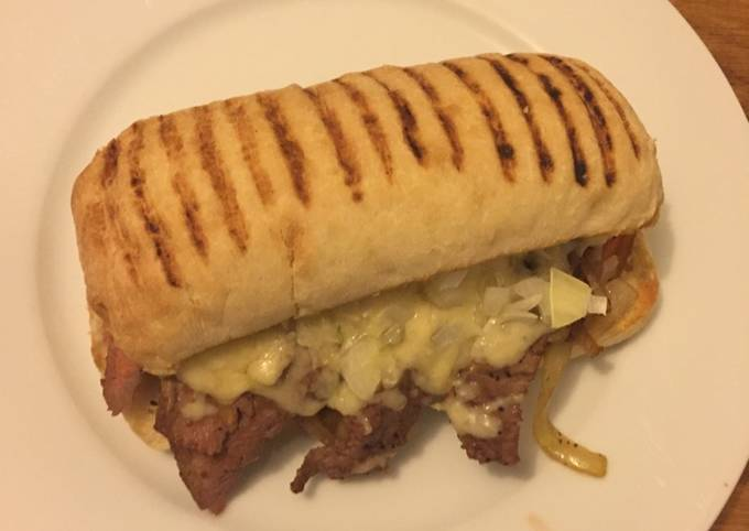 Cheese steak sandwich