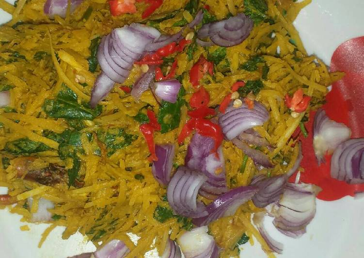 African Dish African salad