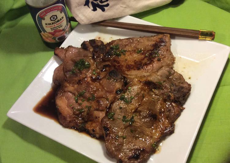 La Meilleur Recette De Côtes de porc marinées à l'asiatique