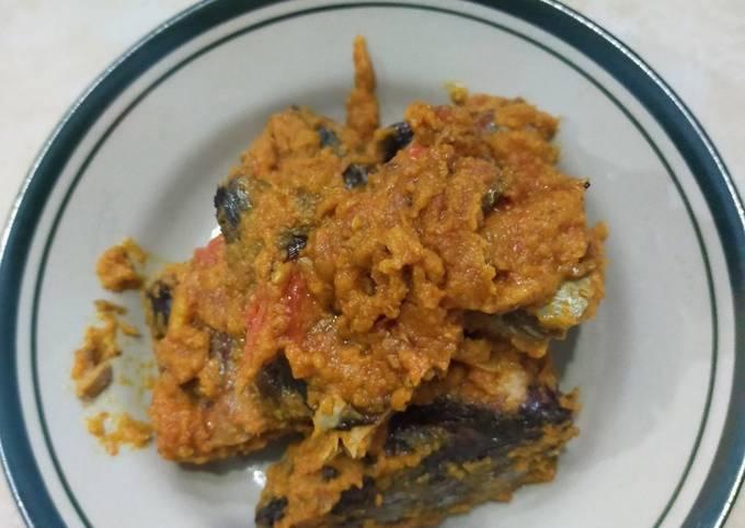 Cara Gampang Menyiapkan Cue tongkol masak cabe yang Lezat