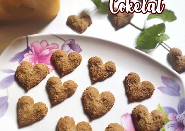 Resep Cookies Cokelat 3bahan, Lezat Sekali