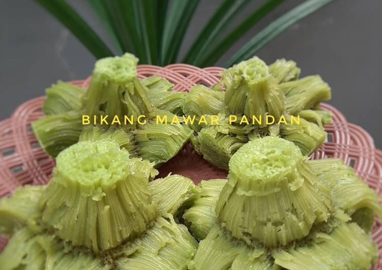 Bikang mawar pandan - cookandrecipe.com