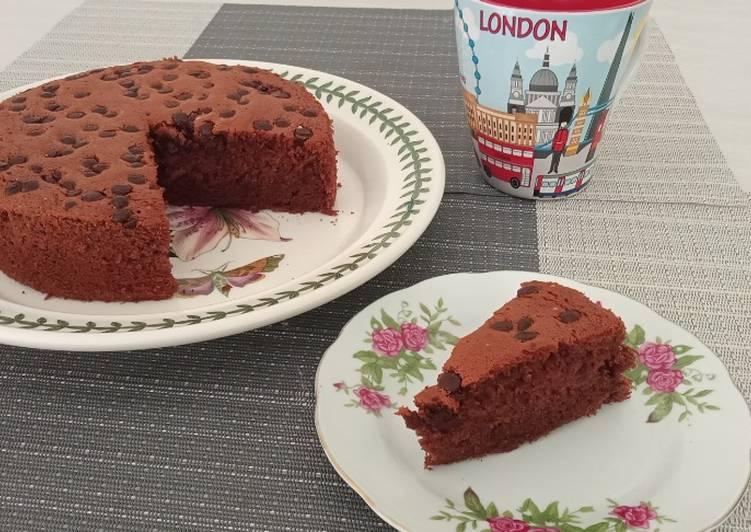 Cake Coklat Pisang Ekonomis dan Yummy