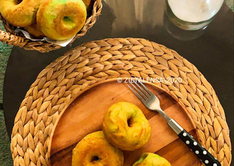 Resepi:  �Donut Pandan  Dirumah