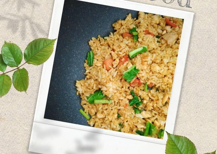 Nasi rendang yummy