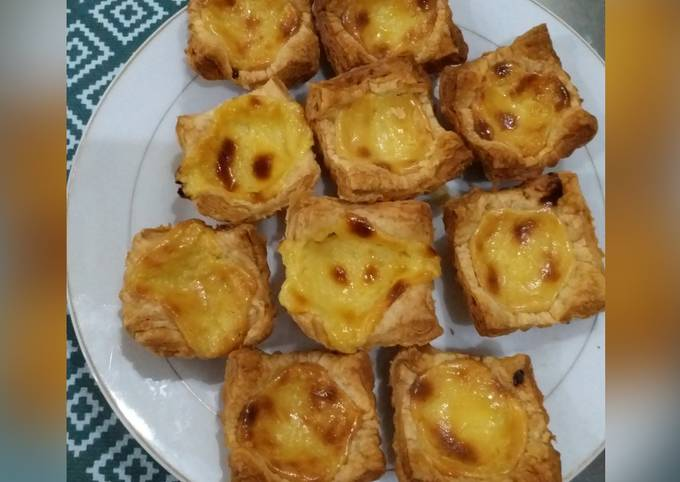 Portugese Egg Taart