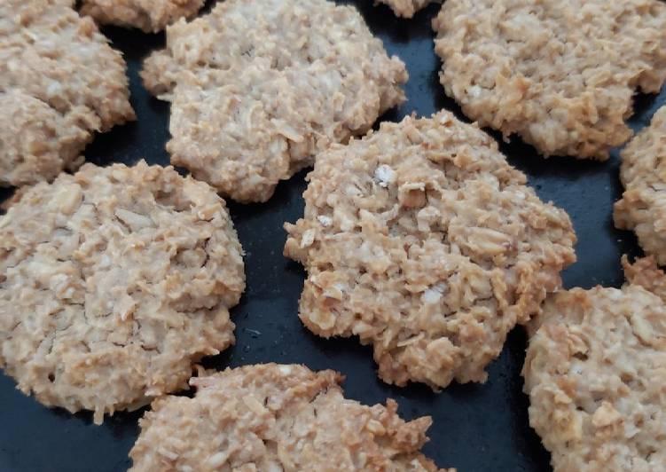 Healty Oat Cookies ala-ala