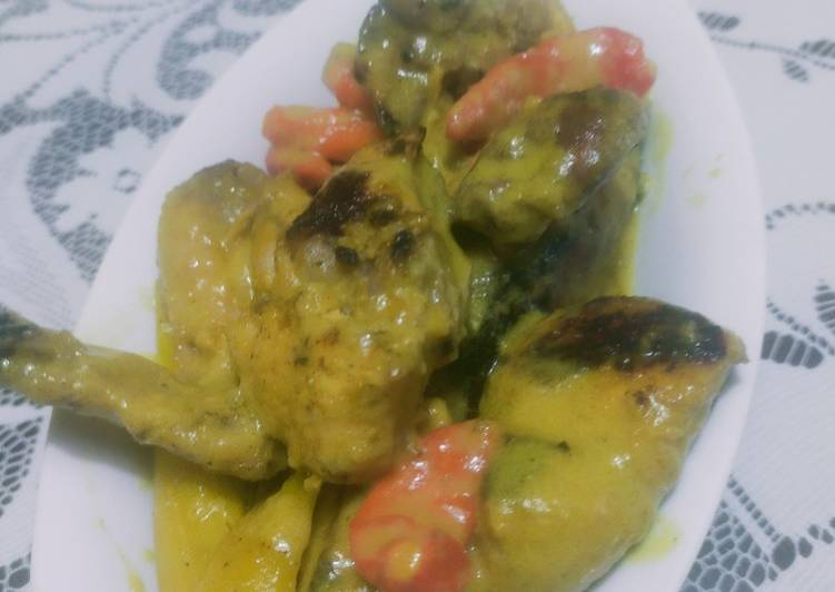 Opor Ayam Panggang - cookandrecipe.com
