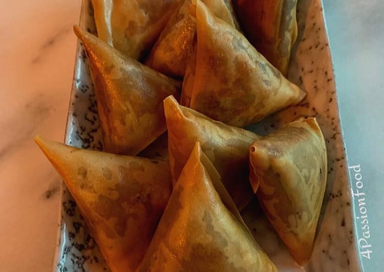 Briouates à la kefta et fromage@4PassionFood #cuisinedumonde