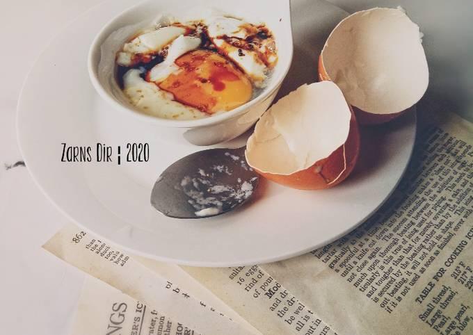 Telur Separuh Masak Kopitiam Style