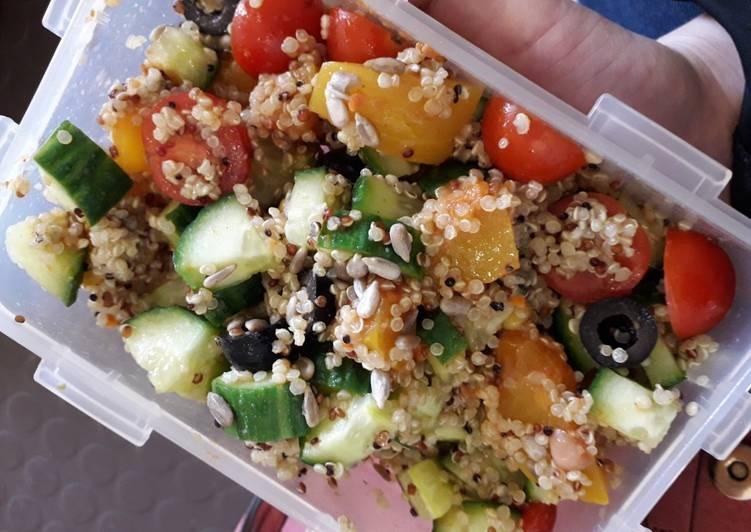 Quinoa & pumpkin salad
