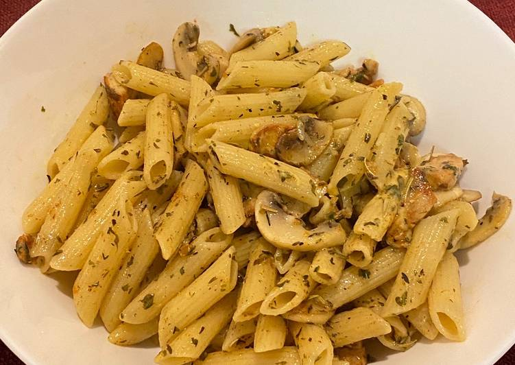 Easiest Way to Prepare Favorite Mushroom penne pasta