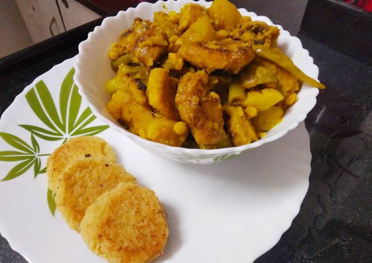15 Minute Recipe of Winter Chapor ghanto -a traditional bengali dish, it has been lost now
