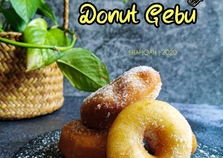 Resepi:  Donut Gebu  Lazat