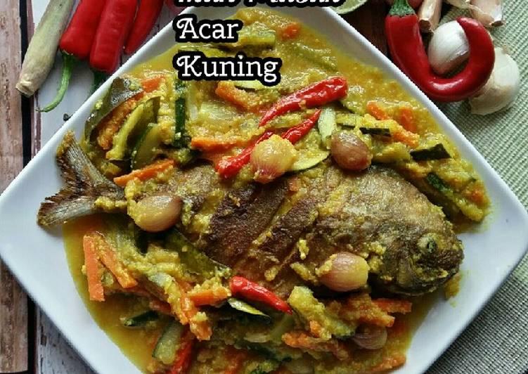 Ikan Masak Acar Kuning #KCHUP