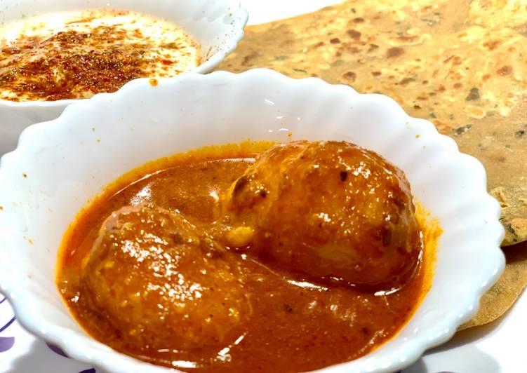 Easiest Way to Prepare Favorite Khatta Mitha Dum Aloo