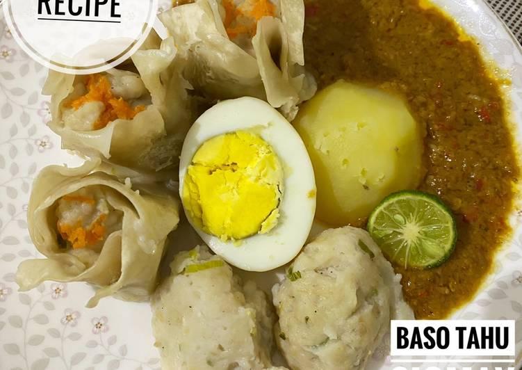 Resep Baso tahu siomay bandung mirip tulen 🔥 Yummy