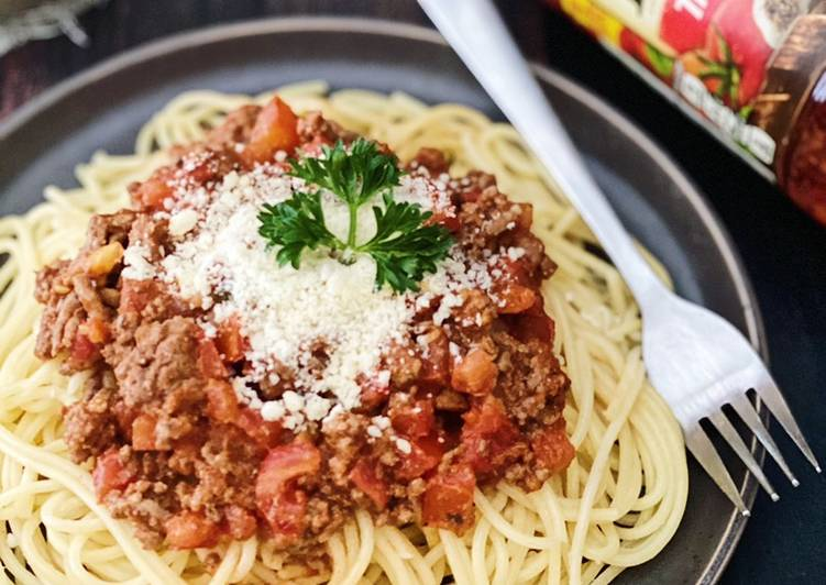 Step By Step Guide To Make Super Quick Homemade Easy Spaghetti Bolognese Beef Recipes