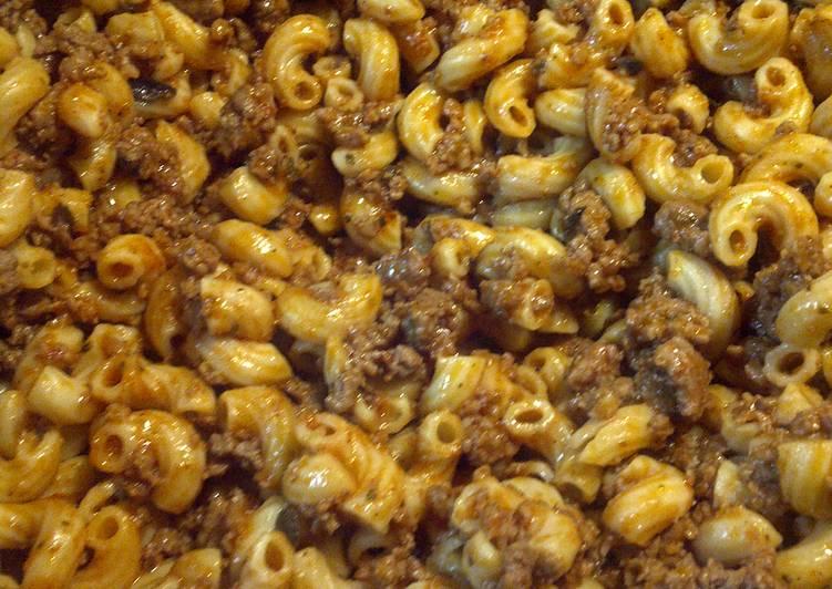 Heather's Oregano Beef Mac