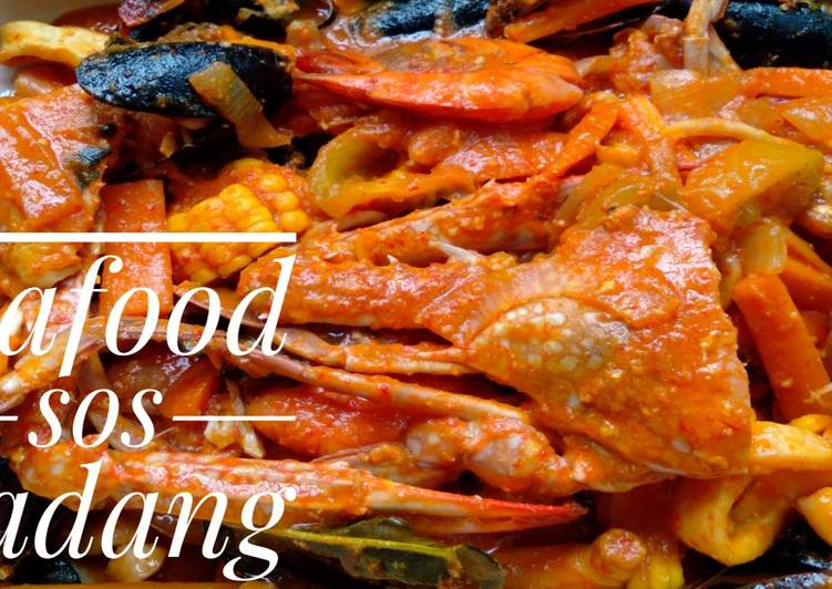 Seafood sos padang