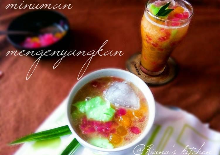 #minuman segar mengenyangkan(sum-sum)