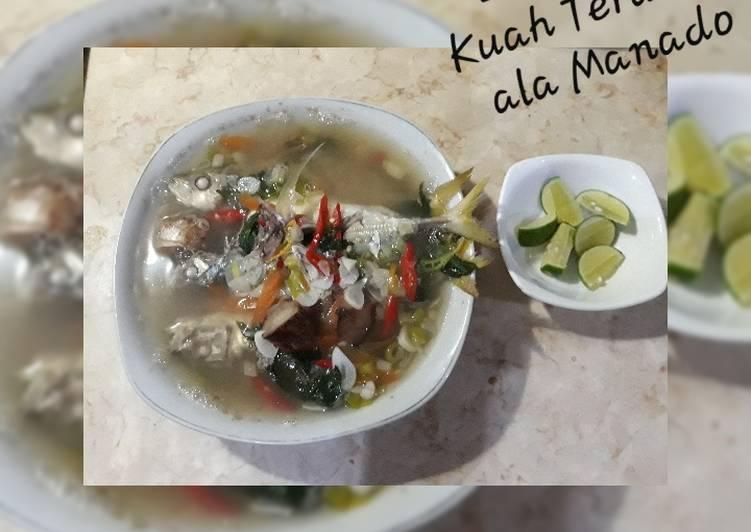 Ikan Tude Kuah Terang ala Manado