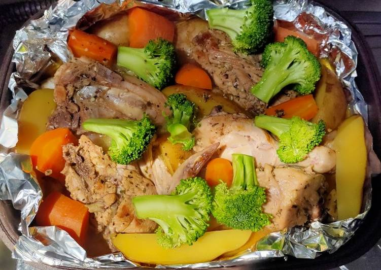 Ayam Panggang Bumbu Italy ala Dapur Uncuna