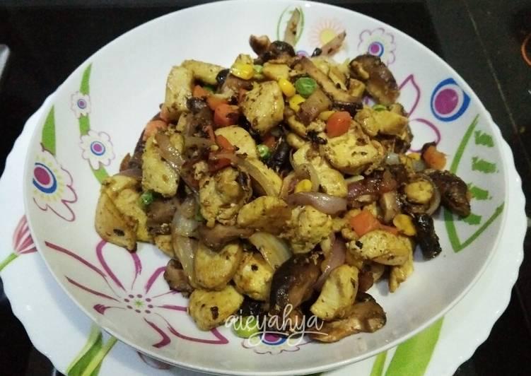 Ayam Goreng Cendawan - velavinkabakery.com