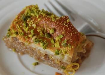 Easiest Way to Cook Appetizing Baklava