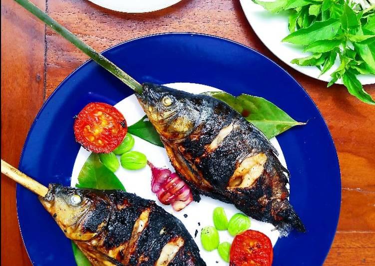 Grilled Goldfish (Ikan Mas Bakar)