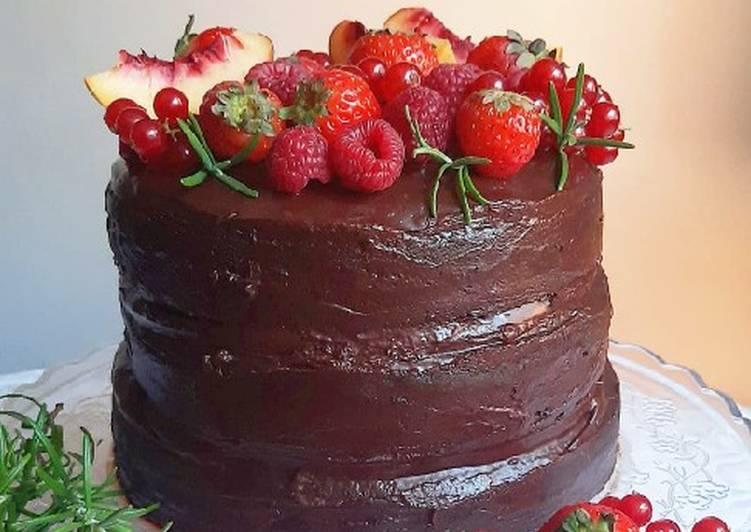 Ricetta Mud cake al cioccolato