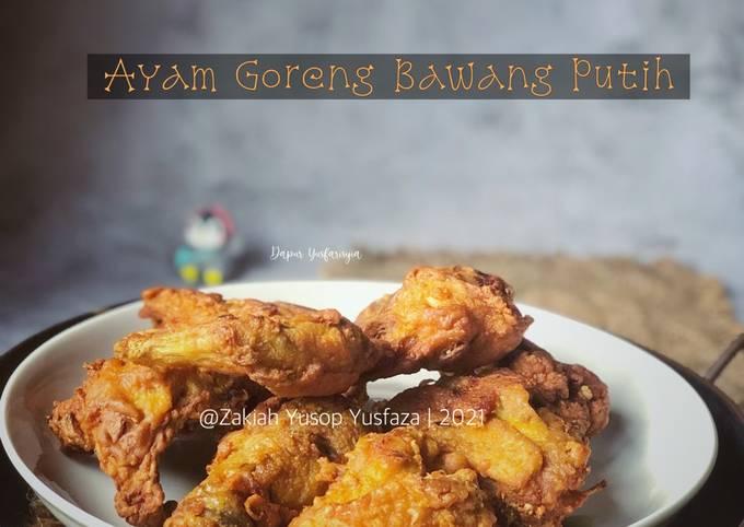Bagaimana Membuat Ayam Goreng Bawang Putih Anti Gagal