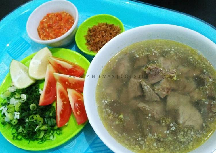 Soto Daging Sapi | Kuah Bening