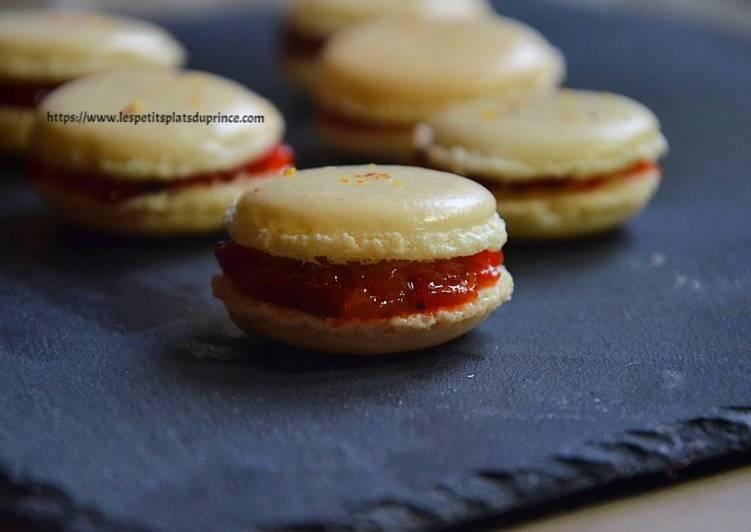 Macarons au confit de poivron rouge