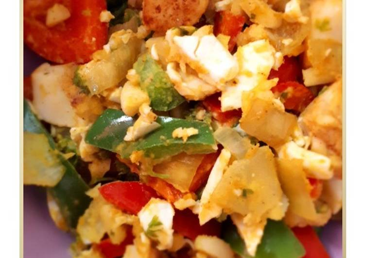 Dory Salted Egg with Paprika