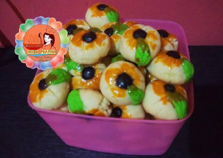 Kue Nastar Cengkeh dan chococips 3 Telur no Oven 😘😘😘