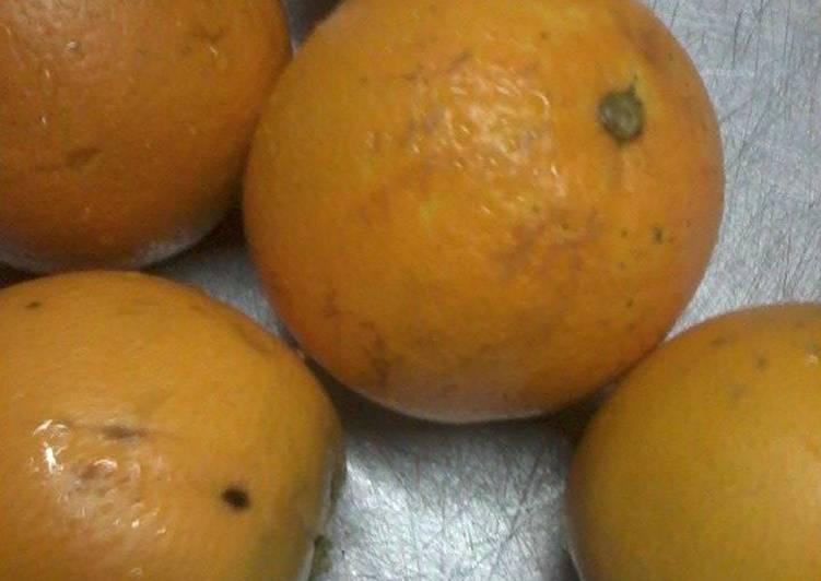 Educator orange appetite