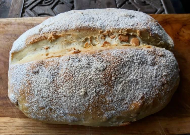 Roti Tawar Kacang Almond