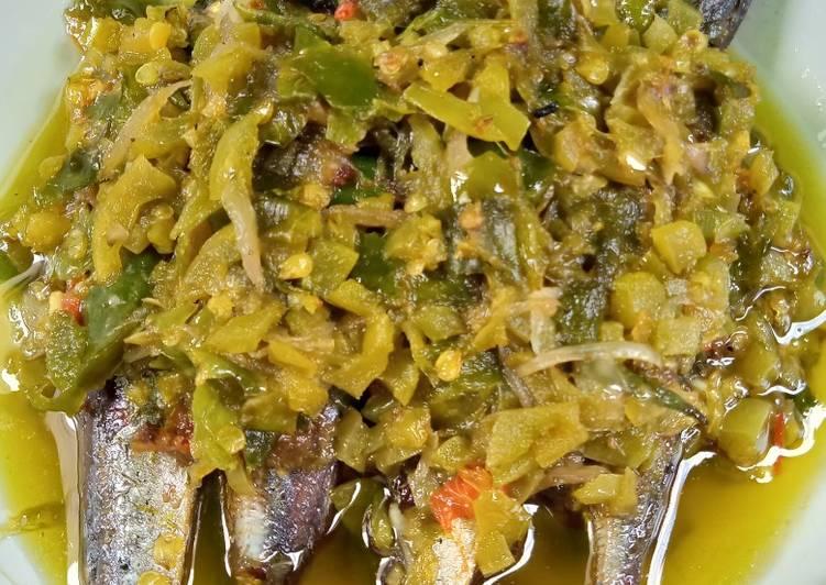 Sambel Ijo Ikan Pindang
