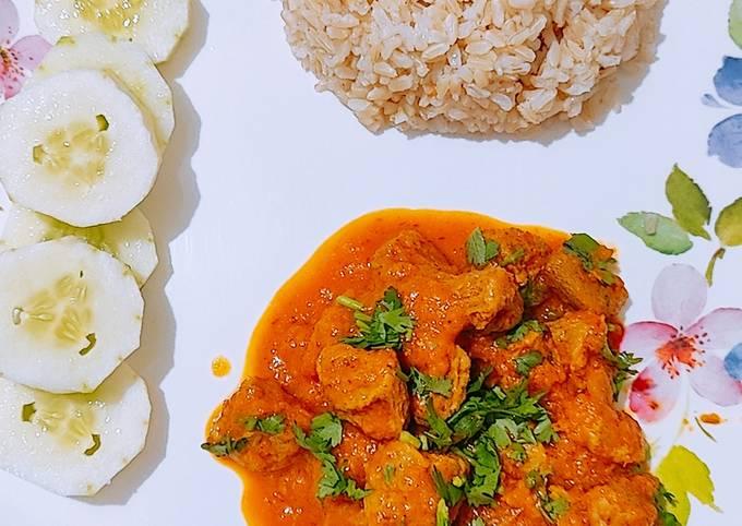Soya Chunks Gravy - Healthy - Diet - Vegan
