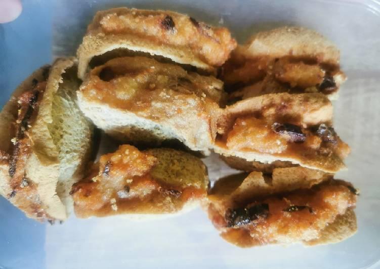 resep cara bikin Tahu walik plus batagor krispi isi ayam dan wortel