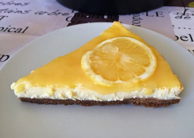 Cheesecake fermier au citron
