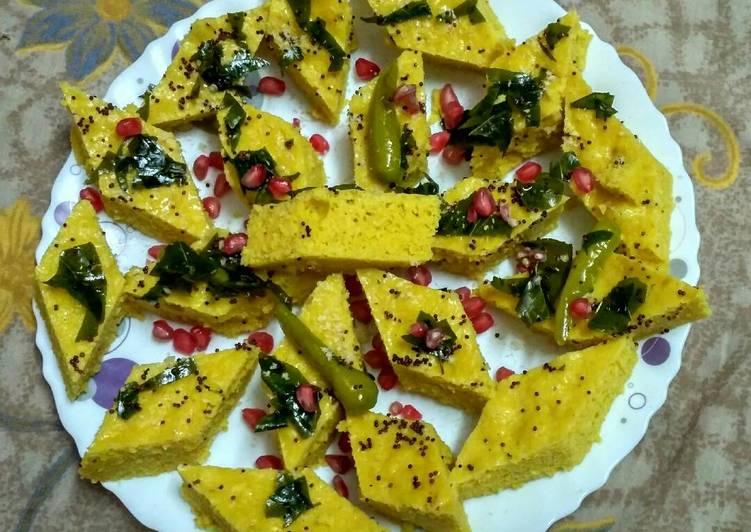 Get Fresh With Khaman dhokla
