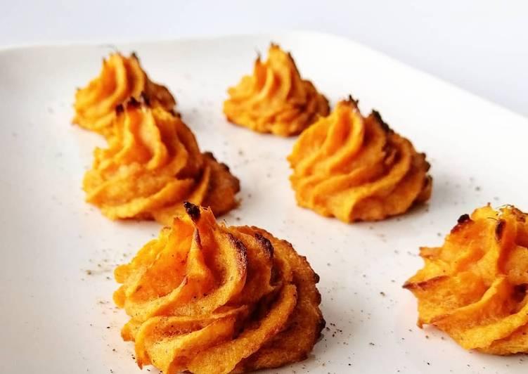 Pomme duchesse à la patate douce
