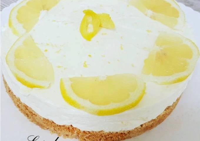 Chescake au citron sans cuisson
