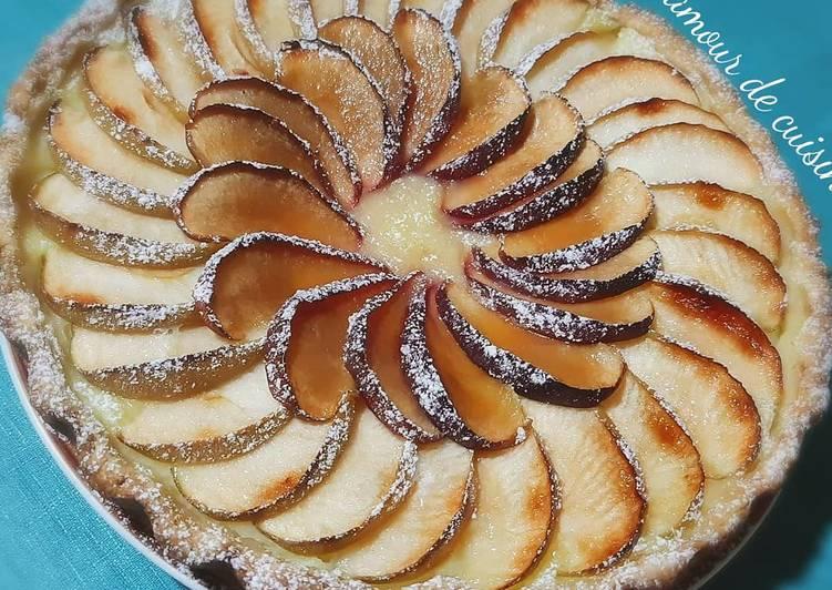 Recette Délicieux Tarte aux pommes 🍎